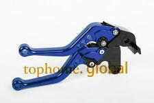 Short Blue CNC Clutch Brake Levers For SUZUKI GSXR600/GSXR750 2006-2010  07 09