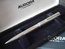 AURORA 98 PENNA SFERA IN ARGENTO 925 + Scatola '79 STERLING SILVER BALL PEN +BOX