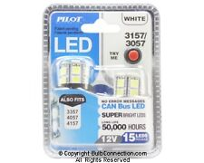 NEW Pilot Automotive 3157 WHITE LED Bulb, 2-Pack IL-3157W-15 12V 3W Bulb