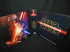 Custom Made Star Wars The Force Awakens 1 1/2 Inch Trading Card Binder Option 3