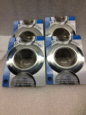 "Stainless Steel Mesh Kitchen Sink Drain Strainer 5"" Wide Rim  LOT OF 4 Strainers"