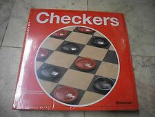 New ! Pressman  checkers Board Games Solid hardboard Gameboard  Christmas Gift