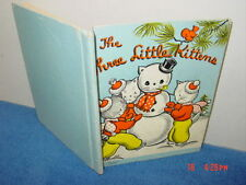 Vintage,Book,Three Little Kittens,Brice,Rand McNally,lost mittens cute story