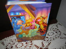 "DISNEY WINNIE THE POOH PHOTO ALBUM HOLDS 100 4x6"" PHOTOGRAPHS"