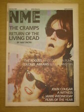 NME 1986 JANUARY 4 CRAMPS POGUES COLONEL ABRAMS JOHN COUGAR