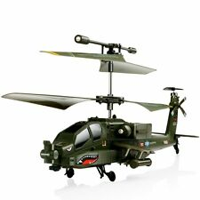 SYMA S109G 3.5CH RC Helicopter AH-64 Apache Helicopter Gunships Simulation Toy