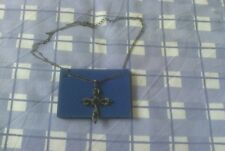 Avon Glamour Cross Necklace 38+9cm - vintage collectable