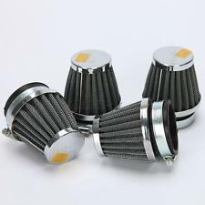 4x MOTORCYCLE 52mm AIR CLEANER FILTERS POD FIT  SUZUKI 1986-1987 GSXR750 52mm