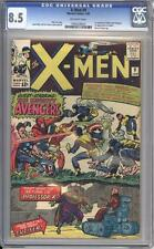 X-MEN 9 - CGC 8.5 - 1st X-Men / Avengers meeting - Marvel Comics