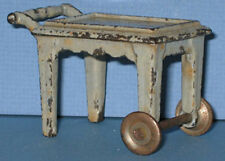 AUTHENTIC & OLD KILGORE TOY TEA CART CAST IRON ALL ORIG * NOW ON SALE * CI124