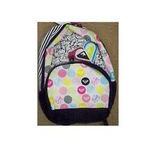 WOMEN'S GIRLS ROXY SHADOW VIEW BACKPACK MULTI LOGO  SCHOOL BAG NEW $55