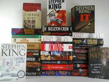 Lot of 35 Stephen King Hardcover / Paperback Books~11/22/63~Dark Tower~Christine