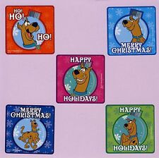 10 Scooby Doo Christmas Holiday Ornament - Large Stickers - Party Favors