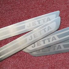 Door Sill Scuff Plate Guards FOR VW Jetta 6 MK6 Sedan 2011-2015 Stainless Steel