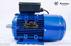 Electric motor single-phase 240v 1.1kw 1.5hp 2840rpm