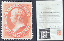 ☆[FINAL SALE%60 OFF CV] US Stamp 1879 Scott 199 CV$35000 [MNH,Special Print,15c]