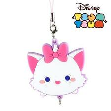 Disney Marie TSUM TSUM Articulated Rubber Strap From Japan