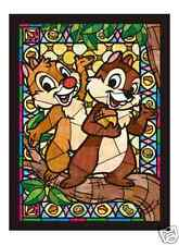 Chip & Dale Stained Glass Arts - 266 Pieces Jigsaw Puzzle by Tenyo from Japan