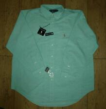 "BNWT auténtico Ralph Lauren Oxford Yarmouth Dress de Superdry 15 ""medio abotonado"