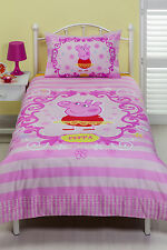 Peppa Pig Duvet | Doona Quilt Cover Set | Ballet | Single