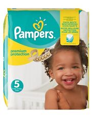 Pampers Size 5 Baby Premium Protection Nappies Monthly Saving Pack of 136 NEW