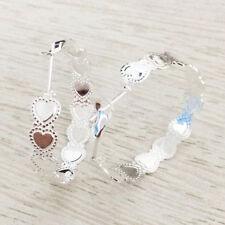 New Women  925sterling solid Silver  Fashion Hoop Dangle Earring Studs Jewelry