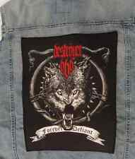 DESTROYER 666 - DESTRÖYER666 - Giant Backpatch Back Patch MAYHEM BEHEMOTH MARDUK