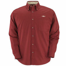 NEW FORD MEN'S EASY CARE STAIN RESISTANT BUTTON DOWN POCKET M OR XXL SHIRT!