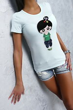 FAMOUS SOMMER 2016 NEU FASHION SEXY FIT TOP SHIRT G40 PUPPE HEMD BLUSE BLOUSE M