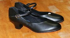 Shoes, Capezio dance shoes Black Genuine Leather Size 5M