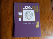 CRYSTAL LAKE,IL LUNDAHL MIDDLE SCHOOL YEARBOOK 2004