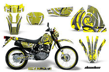 AMR Racing Suzuki DRZ 200 SE Graphic Number Plate Kit MX Bike Decals 96-09 DED Y