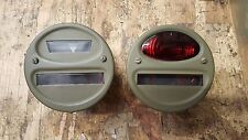 Yankee Willys MB GPW Harley Davidson WLA Army Tail light blackout 6v Lamp 6 volt