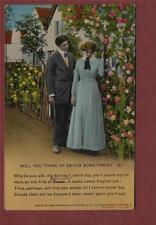 May Boore, St. Vincents Road, Newport  1917  Harry postcard qa825
