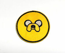 Adventure Time Jake the Dog round iron on patch 70mm