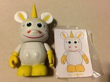 "BUTTERCUP Unicorn TOY STORY 1 Disney VINYLMATION 3"" Figure with Card from WDW"