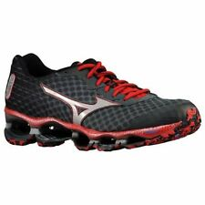 Mizuno Wave Prophecy 4 Men Black Red Running Shoes 9473 Size 8.5 New!