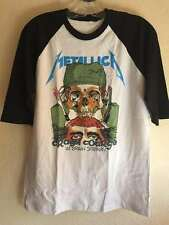 Metallica M T-shirt Thrash metal Anthrax Megadeth Dark angel Metal church Dio