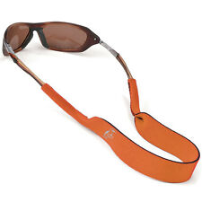 CHUMS ORANGE  Neoprene retainer sunglasses eye glasses burnt sports strap RF