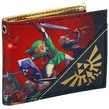 Portafoglio Legend of Zelda Ocarina Of Time 3D Bifold Wallet Nintendo Bioworld