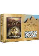 DISCOVERY CHANNEL - ANCIENT EGYPT DVD & JIGSAW GIFT SET - DVD - REGION 2 UK