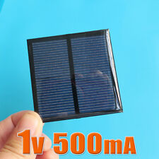 2pcs X 1V 500mA Mini solar Panel small solar cell PV module for Solar DIY Kits