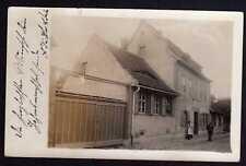 79036 AK Buttstädt - Cölleda Kölleda Fotokarte Gerberei Restauration 1912