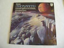 Neville Marriner: Holst The Planets LP Holland Philips 9500 425