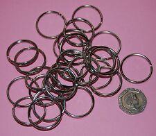 Double Loop Split Ring Key Rings Keyring Craft Findings Hoop  Vary Size & Colour