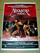 ARCHER AND THE SORCERESS Orig WARRIOR Movie Poster LANE CAUDELL BELINDA BAUER