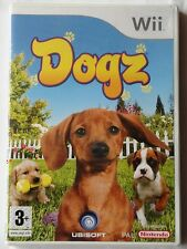 DOGZ NINTENDO Wii GAME CHILDRENS DOGS ANIMALS GAME brand new & sealed RARE UK