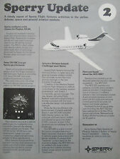 6/1977 PUB SPERRY FLIGHT SYSTEMS UPDATE 2 CANADAIR CHALLENGER OH-58C GYRO AD