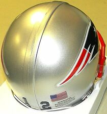 Tom Brady New England Patriots #12 Riddell NFL Football Custom Mini Helmet