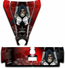Graphic Decal Kit Canam Commander Can Am Hood Tailgate Reaper Revenge Red